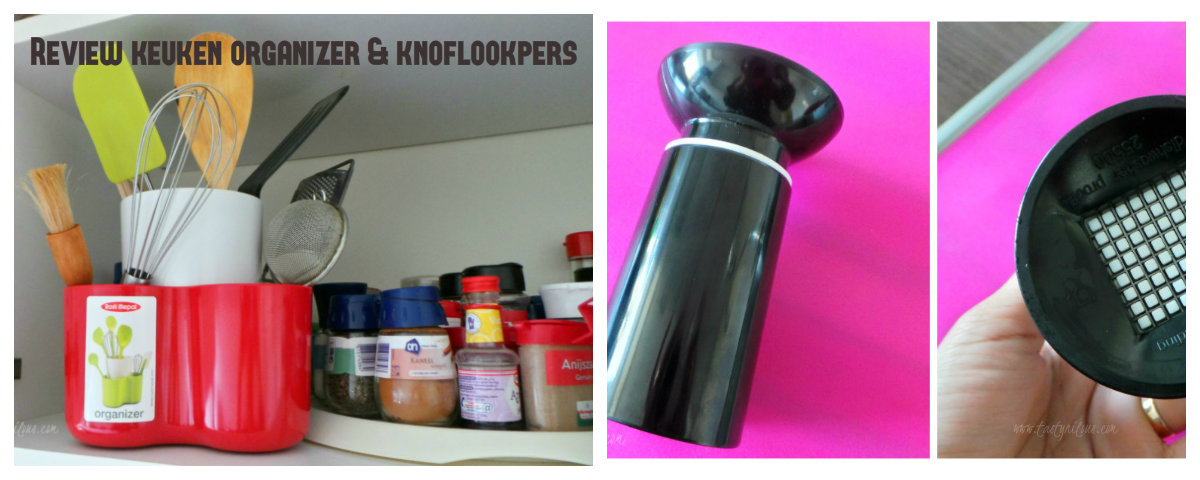 Review keuken organizer & knoflookpers   tasty nilou's