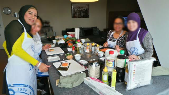 sushiworkshop_withlocals_groep