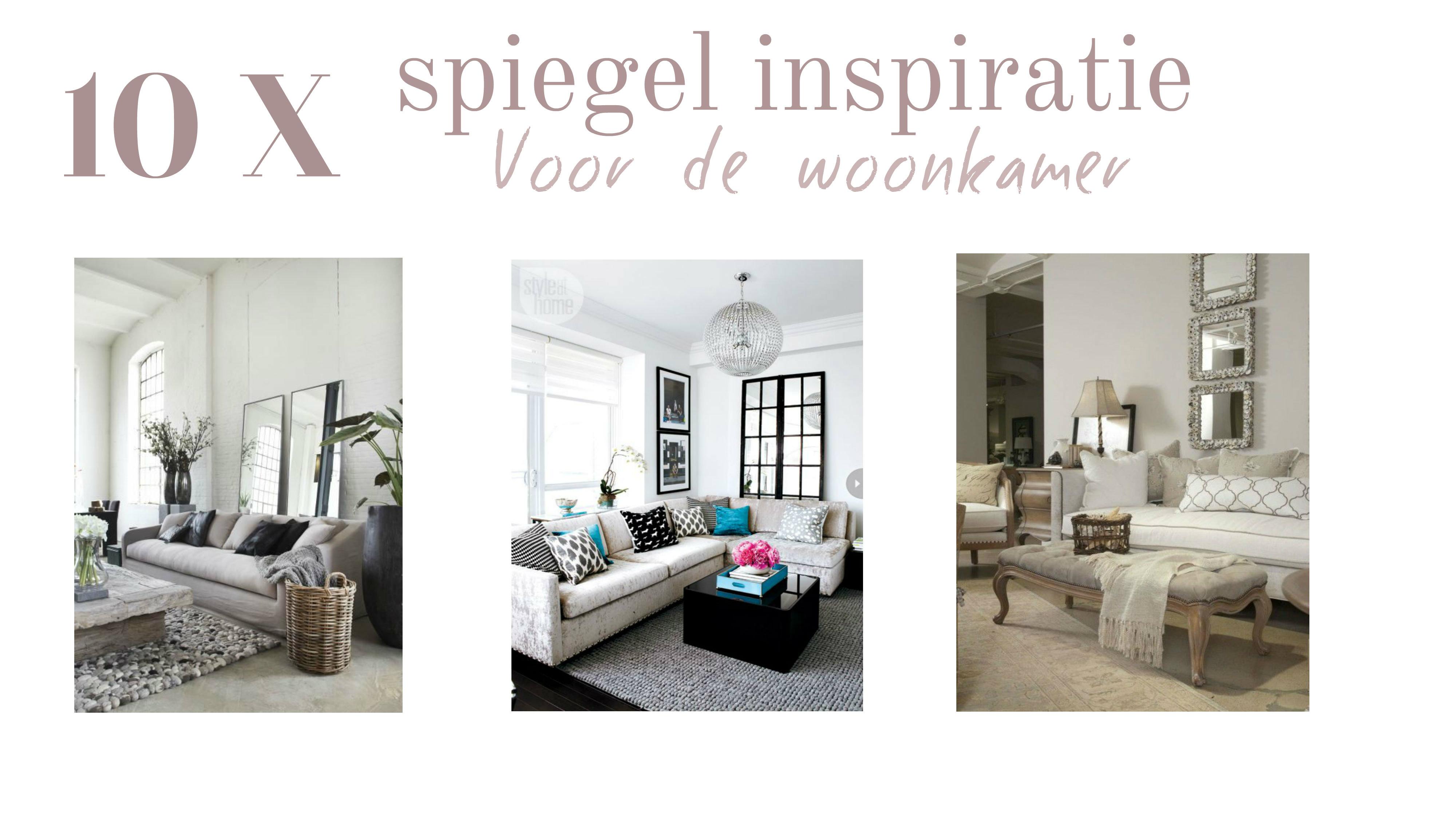 Interieur design 10 x spiegel inspiratie tasty nilou 39 s for Design spiegels woonkamer